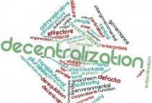 decentralization